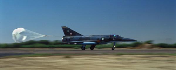 Mirage landing