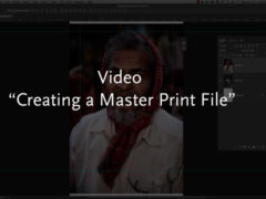 Creating a Master Print File