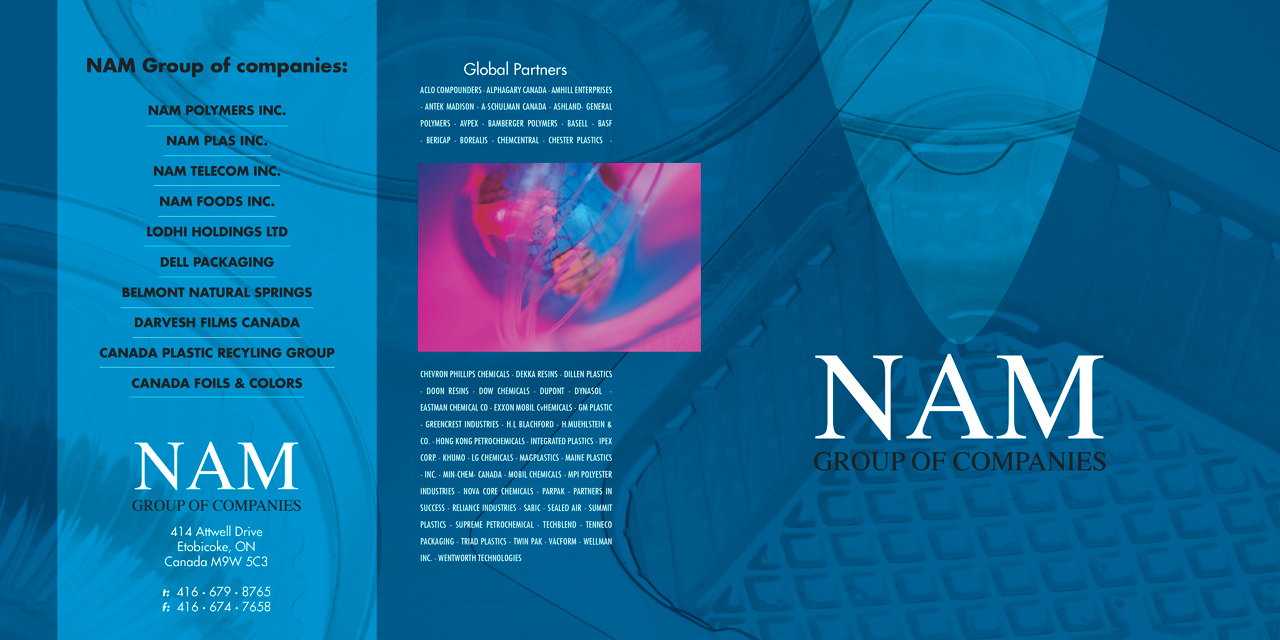 NAM Brochure, Polymer Company, Toronto